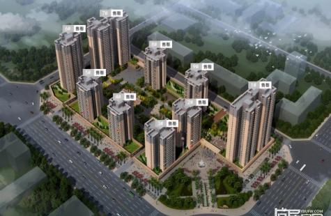 弘泰.映月城住宅全数售罄,在售少量建面75-200平米商铺