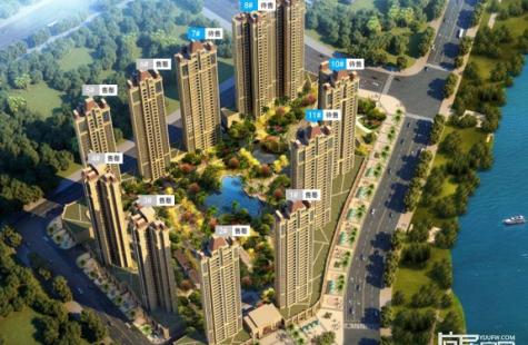 富辰滙珑湾项目新品建设当中,后期还有住宅产品推出