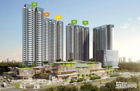 昊翔源壹城中心四期峰尚2/3栋新品于9月28日推出