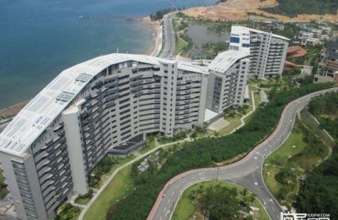 中航·屿海在售B8栋单间及2房户型,户型建面40/82平米