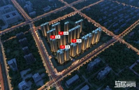 奥林清华花园目前在售1-4栋房源,价格7300元/平米