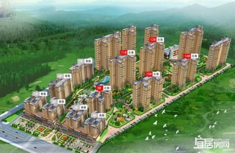 博景湾目前二期11/12/15/16栋在售,均价8000元/平米