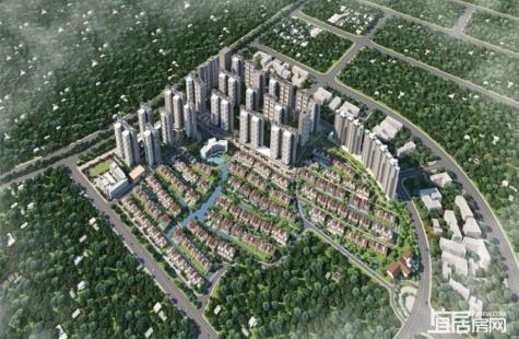 惠州实地常春藤目前在售5期1-5栋,均价10600元/平
