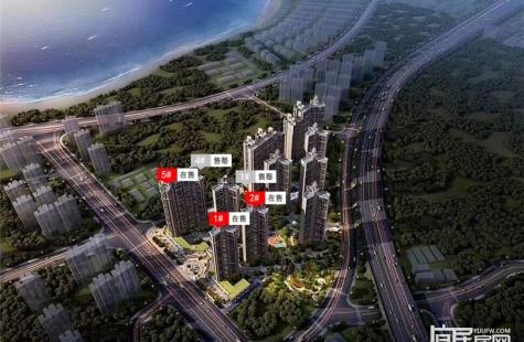 惠州畔山悦海花园目前在售1/5栋房源,价格12000-13000元/平