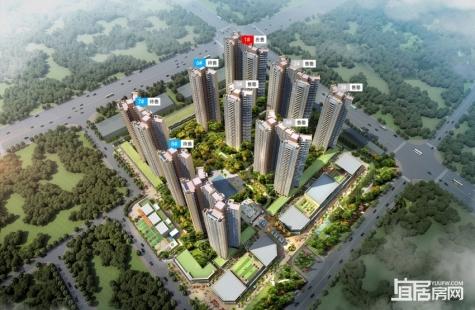 惠州龙光玖龙湾现仅剩3套样板房在售,均价14000元/平米