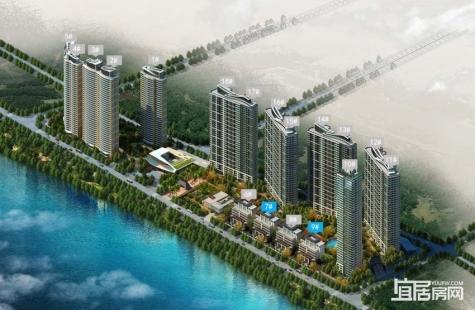 保利达江湾南岸9栋新品共11套房源已推出