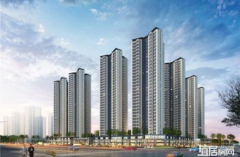 惠州融创玖樟台现在售3栋,户型建面96/100/108平米的3房