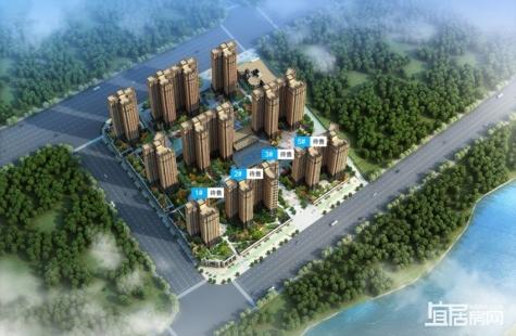 惠州水岸丽都预计12月中旬首次开盘首批新品将推出2/3/5栋