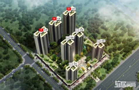 惠州庞源御梓园将推出5/6/7栋住宅户型为建筑面积90-112㎡