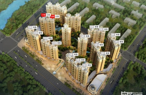 惠州凯南莱弗城预计12月开盘16/17栋住宅