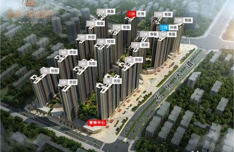 惠州富康锦绣壹号现在售三期13栋建面85-110平房源