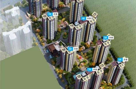 惠州中南林间漫目前在售1/2栋高层住宅,预计价格12500元/㎡送装修交房。