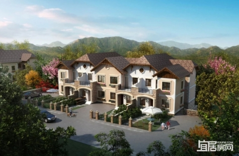 惠州五矿哈施塔特现有别墅和高层住宅在售