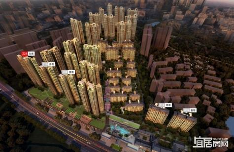 惠州深惠颐景园目前在售22栋,均价8200元/平