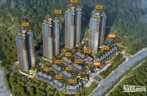 惠州东旭千江月目前在售1栋高层洋房备案价9086-10576元/平米