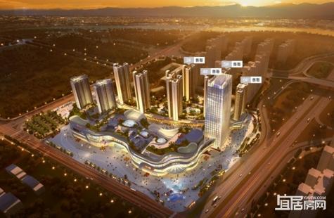 惠州隆生金山湖中心预计12月推出建面134-188平新品