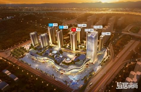 惠州隆生金山湖中心7栋已开盘 预计12.22加推1/2栋134-188㎡新品