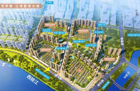 德威江誉城规划图怎么样?