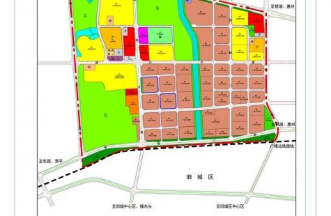 关于发布谢岗镇金川片区控制性详细规划F-02、F-05街坊调整的批后公告