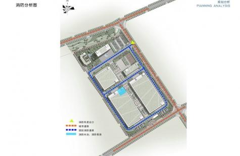 泸州市城乡规划管理局高新区分局关于麦穗科技产业园项目设计方案的公示