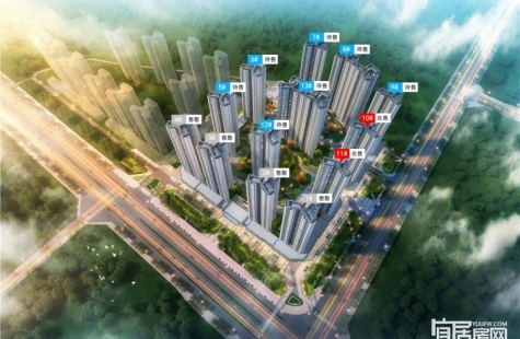 惠阳融创玖樟台3月15日加推10号楼,备案均价10700~10900元/㎡