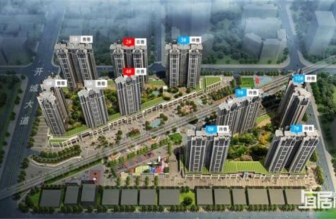 惠州长通熙园在售4栋,建面为70-129㎡户型,备案价格为12059-13959元/㎡