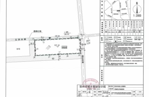 贺州市平桂区五拱水路与园区西路交汇处西南侧22645.14平方米地块国有建设用地控制性详细规划图则公示