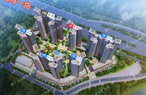 惠州小时界-6栋完美售罄,1栋荣耀加推!