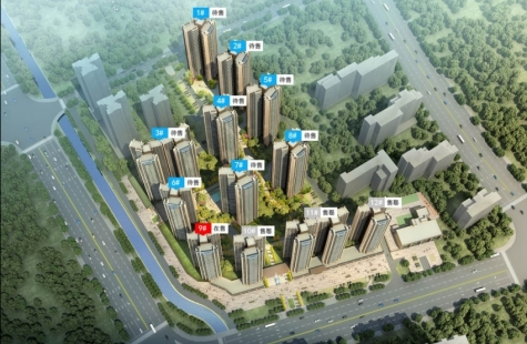 龙光玖龙府9栋新品已于4月20日开盘,均价12300元/㎡