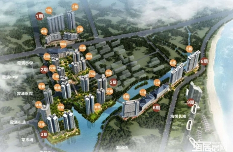海悦湾在售9栋、10栋产品
