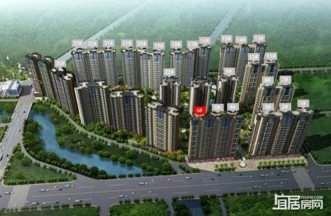 三远大爱城目前在售6栋产品,户型建面112/122平