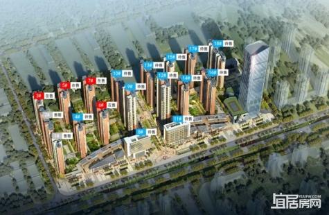 大中华幸福城目前在售1-3/5-7栋