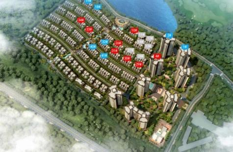 龙光天禧在售高层洋房4栋,还有坡地别墅在售