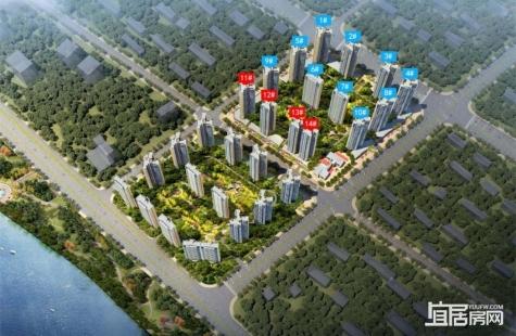 碧桂园滨江府在售11/12栋,另外13/14栋已经取得预售证