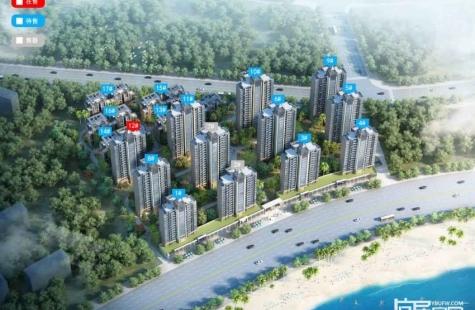 海伦堡十里东江在售12栋小高层,5月中旬推出叠墅