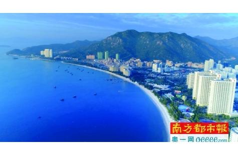 惠东县10年接待游客增长4 .6倍 旅游收入增长11.6倍
