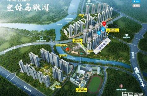 中洲公园城5栋登记中,即将开盘