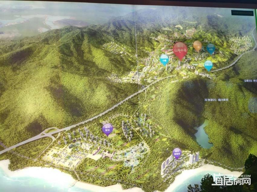 星河山海半岛总规划图