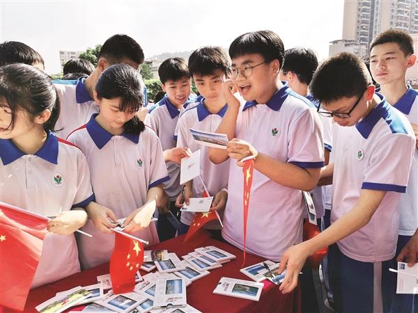 惠东通过特色明信片向全国乃至全球展示富有山海特色的城市形象。