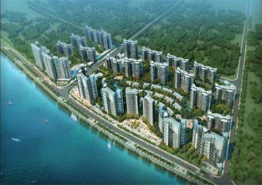 中海水岸城效果图
