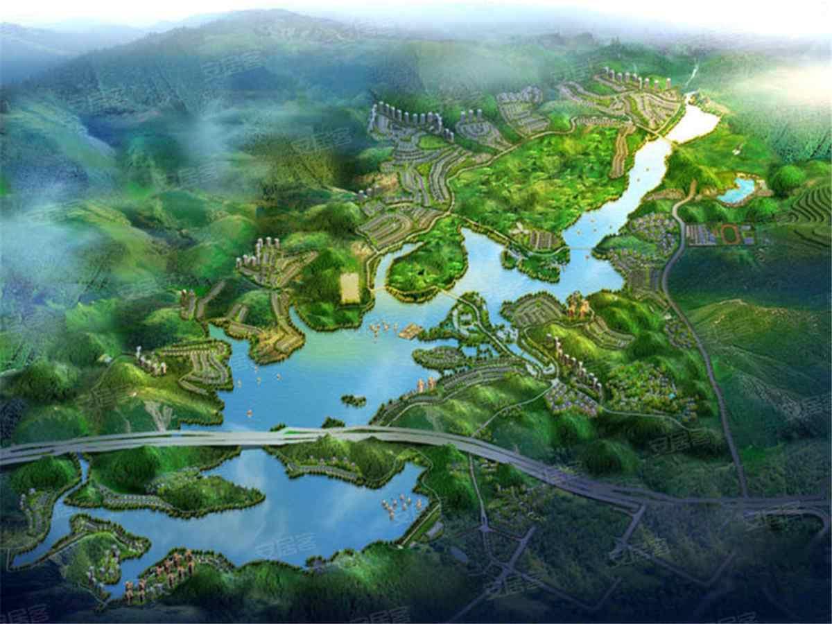 雅居乐白鹭湖效果图