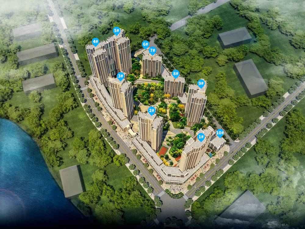 上霞湖庭规划图