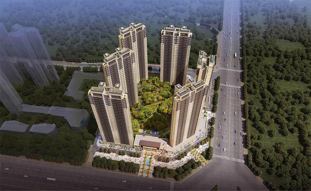 中海阳光玫瑰园规划图