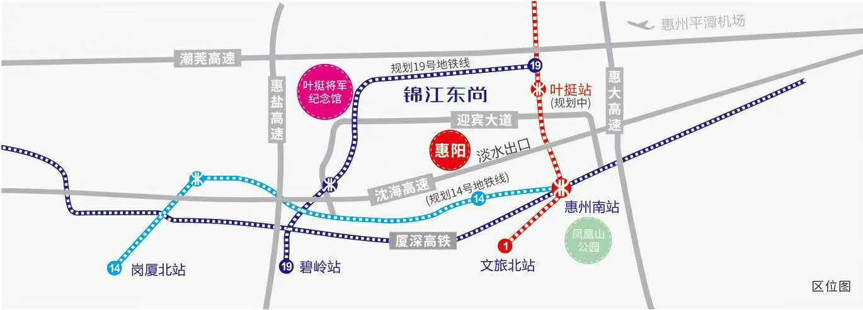 锦江东尚交通图