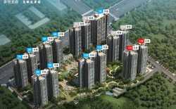 惠州家悦龙庭在售14、15栋,均价13000/平米