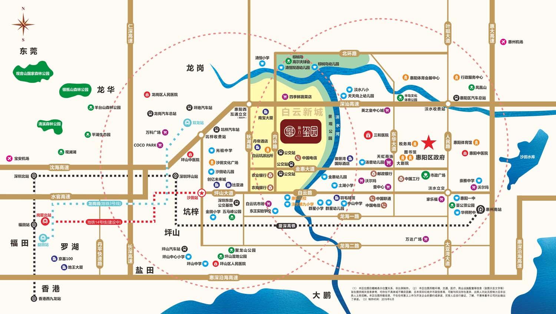 新力玺园交通图