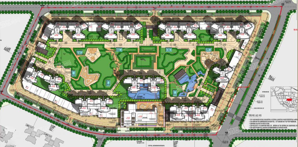 碧桂园城央印象规划图
