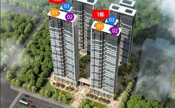 惠州嘉宝幸福里在售99~115㎡精装大三房,两梯三户