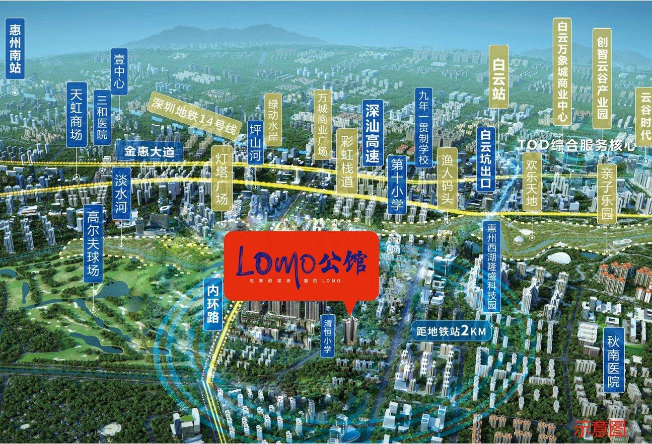 卓洲LOMO公馆配套图