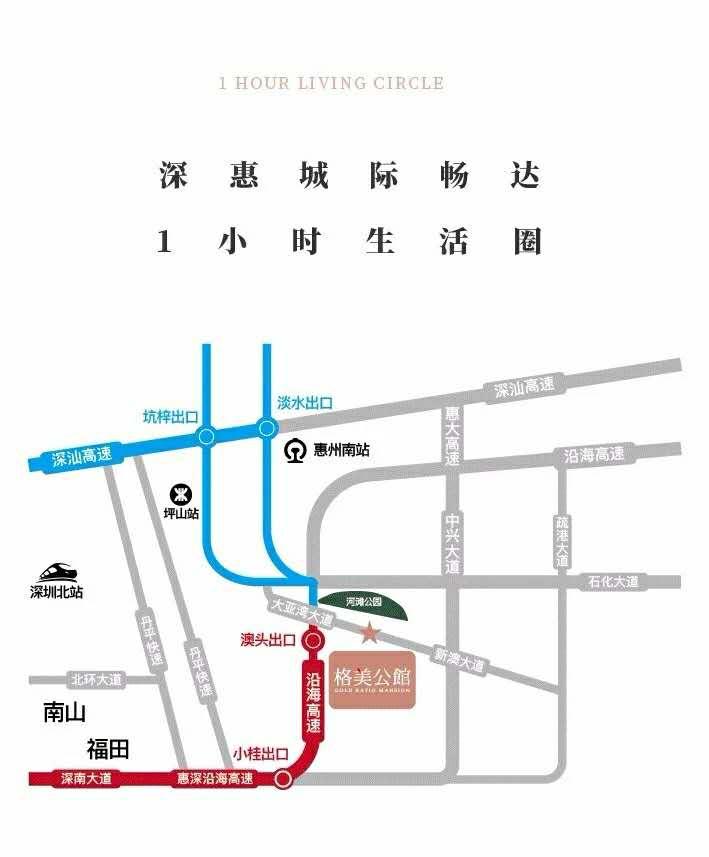 格美公馆交通图